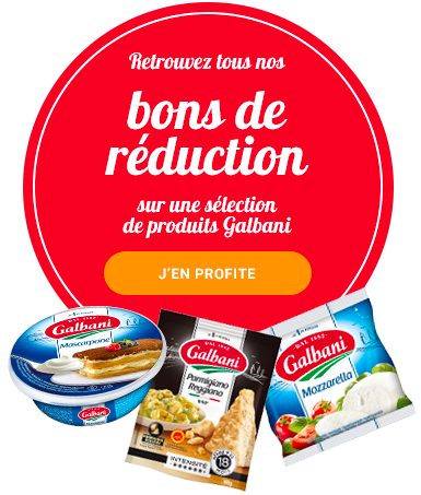 Bons de réduction Galbani