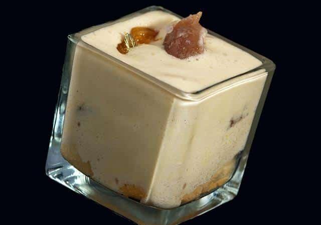 Tiramisu aux marrons glacés et mandarines confites - Galbani