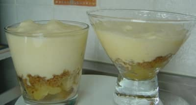 Tiramisu pommes-speculoos - Galbani