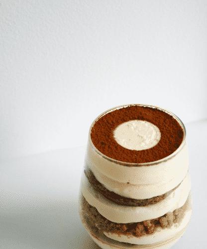 Tiramisu gelée de café et spéculoos - Galbani