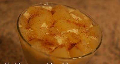 Tiramisu poires et marrons - Galbani