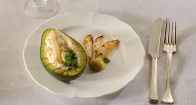 Avocat farci au gorgonzola - Galbani