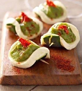Coupelle de Mozzarella au guacamole - Galbani