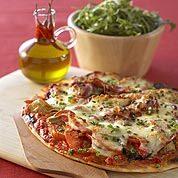 Pizza à la Pancetta, Légumes et Mozzarella - Galbani