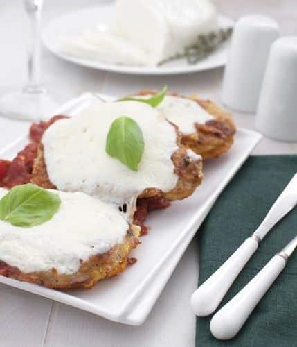 Escalopes de boeuf à la sauce tomate et Mozzarella - Galbani