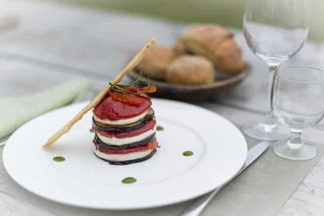 Millefeuille à la Mozzarella - Galbani