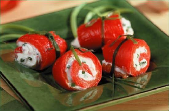 Verrines de Mozzarella, tomates et tapenade verte - Galbani