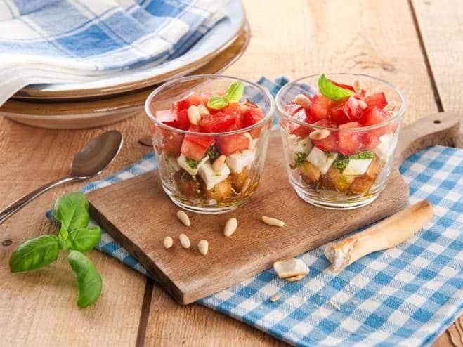 Salade Caprese à la Cuillère - Galbani