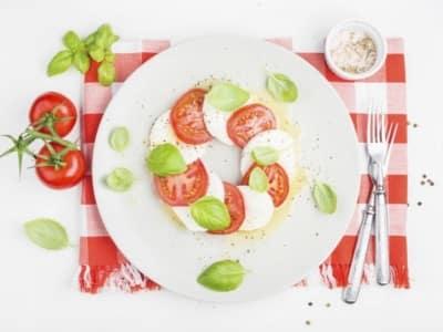 Salade Caprese à la Mozzarella di Bufala - Galbani