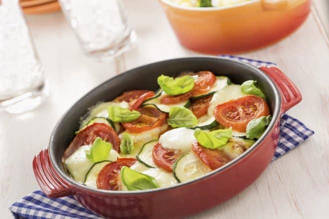 Salade de légumes à la Mozzarella di Bufala - Galbani