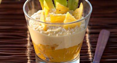 Tiramisù Ananas et Coco - Galbani
