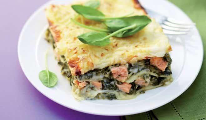 Lasagnes aux Deux Saumons, Ricotta et Épinards - Galbani