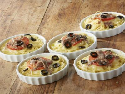Antipasti Spaghetti et anchois - Galbani