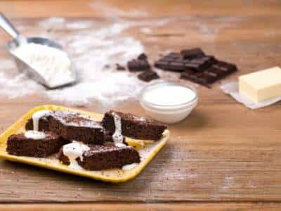 Gâteau au chocolat et sa crème de ricotta chaude - Galbani