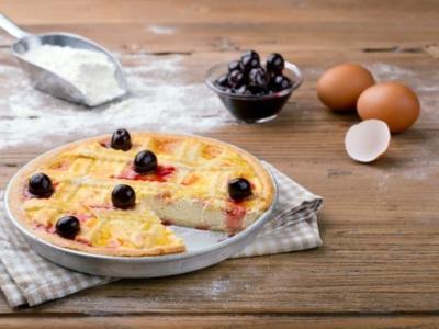 Crostata à la crème de ricotta et aux cerises Amarena - Galbani