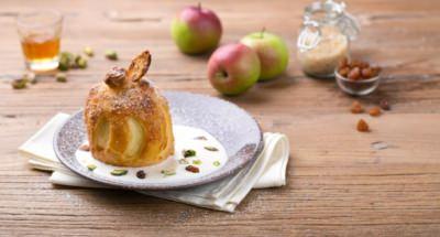 Pommes en cage avec crème de ricotta - Galbani