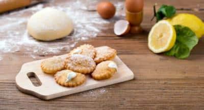 Tortelli sucrés frits à la crème de ricotta - Galbani
