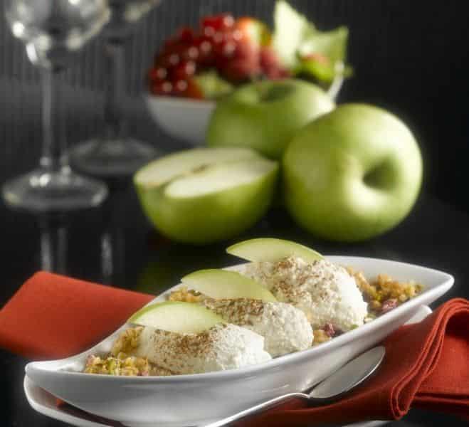 Cheesecake à la Pomme Verte - Galbani