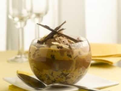 Cheesecake aux Chocolat, Noix et Caramel - Galbani