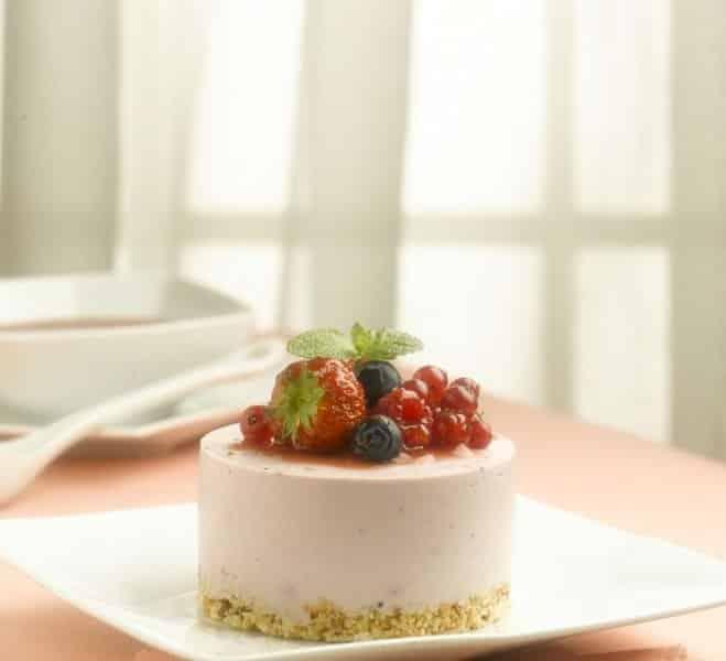 Mignon de Cheesecake aux Fruits des Bois - Galbani