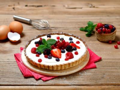 Crostata à la crème de mascarpone et aux fruits rouges - Galbani