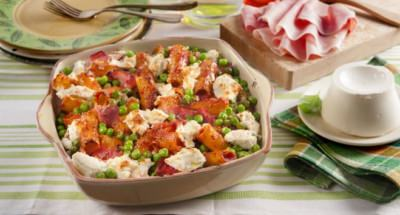 Salade Chaude de Macaronis - Galbani