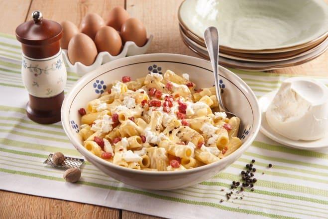 Macaronis à la Carbonara & Ricotta - Galbani