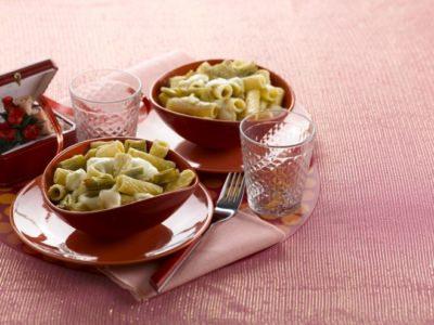 Rigatonis fondants à la sauce d'artichaut - Galbani