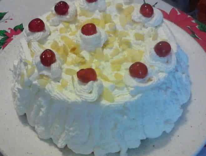 Cassata (gâteau sarde) de ma maman - Galbani