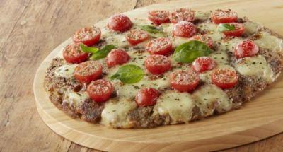 Pizza à la viande hachée, mozzarella et tomates (sans pâte à pizza) - Galbani