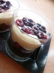 Tiramisu à la crème de cassis - Galbani