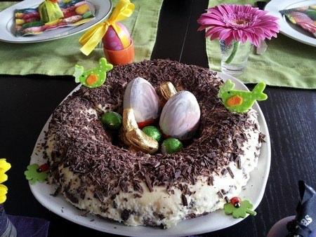 Nid de Pâques façon Tiramisu - Galbani