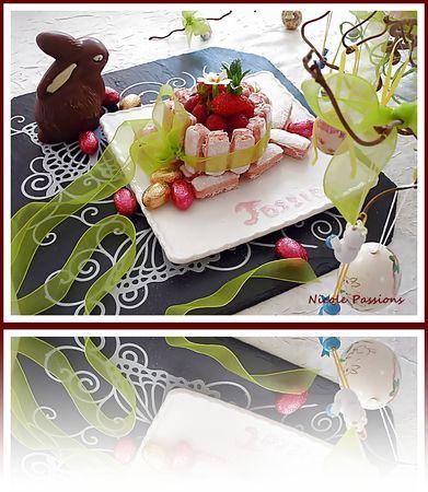 Mini charlotte au tiramisu fruits rouges - Galbani