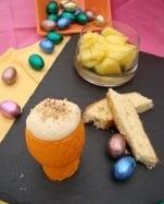 Tiramisu d'oeuf coque et ses mouillettes - Galbani