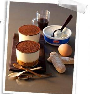 Tiramisù traditionnel en verrine - Galbani