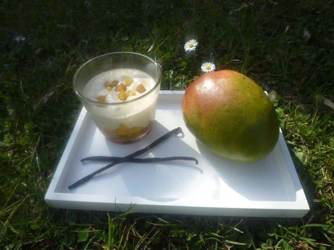 Tiramisu à la mangue, vanille et speculoos - Galbani