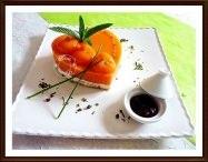 Coeur melon jambon menthe Mascarpone - Galbani