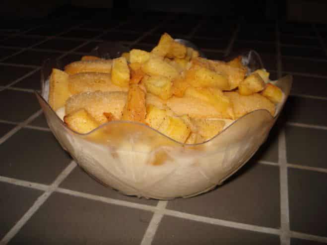 Tiramisu aux pommes - Galbani