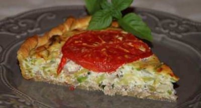 Quiche courgette - Galbani