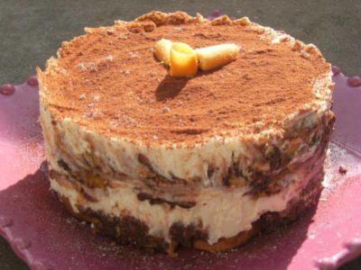 Tiramisu aux Cookies et pépites de chocolat - Galbani