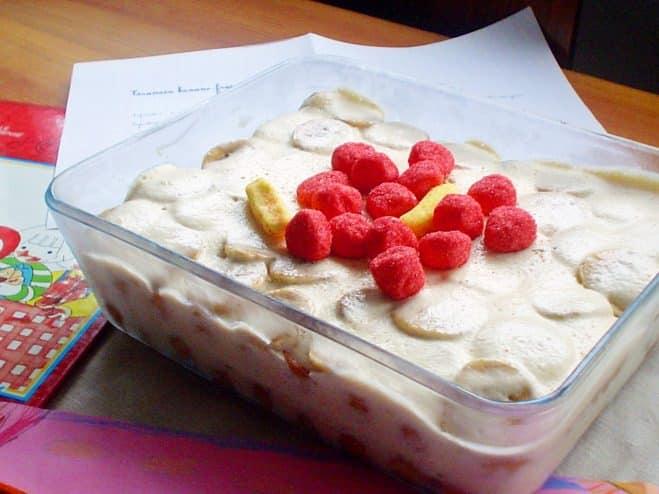 Tiramisu banane-fraise bonbons - Galbani