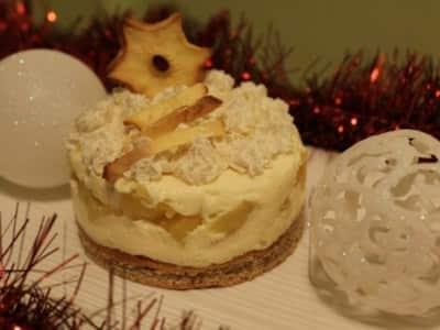 Tiramisu au pain d'épices et pommes caramélisées - Galbani