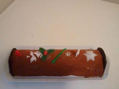 Bûche glacée tiramisu chocolat - Galbani