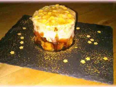 Tiramisu pomme d'amour et pain d'épices - Galbani