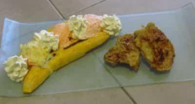 Banana split salé - Galbani
