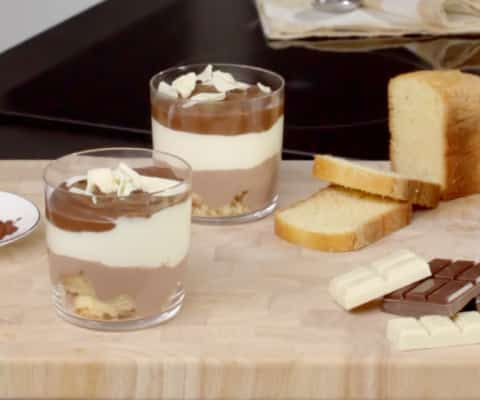 Tiramisù aux trois chocolats - Galbani