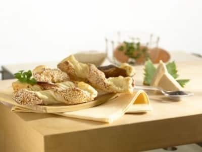 Torsades de pâte feuilletée au fromage - Galbani