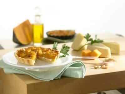 Tartelettes à la Courge et à la Mozzarella - Galbani