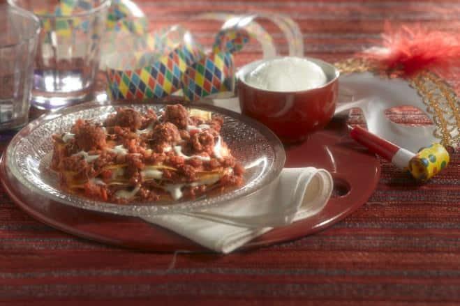 Lasagnes aux Boulettes de Viande - Galbani