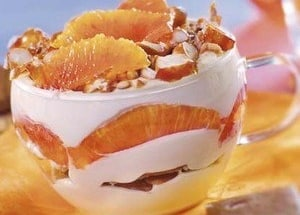 Tiramisu orange noisettes - Galbani